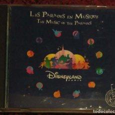 CDs de Música: LES PARADES EN MUSIQUE - DISNEYLAND PARIS - CD 1998 - DISNEY. Lote 130345470