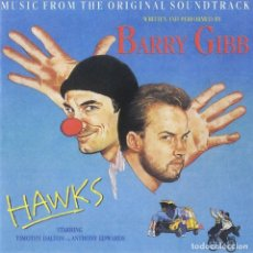 CDs de Música: HAWKS / BARRY GIBB CD BSO. Lote 130373746