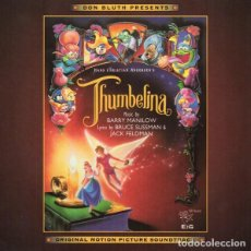 CDs de Música: THUMBELINA / BARRY MANILOW CD BSO. Lote 130374022