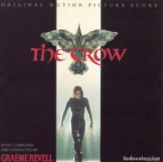 CDs de Música: THE CROW / GRAEME REVELL CD BSO. Lote 130374070