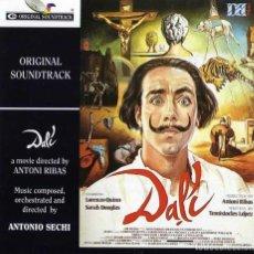 CDs de Música: DALÍ / ANTONIO SECHI CD BSO. Lote 159649049