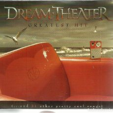 CDs de Música: DREAM THEATER - GREATEST HIT (...AND 21 OTHER PRETTY COOL SONGS) - CD DOBLE RHINO 2008. Lote 130381198