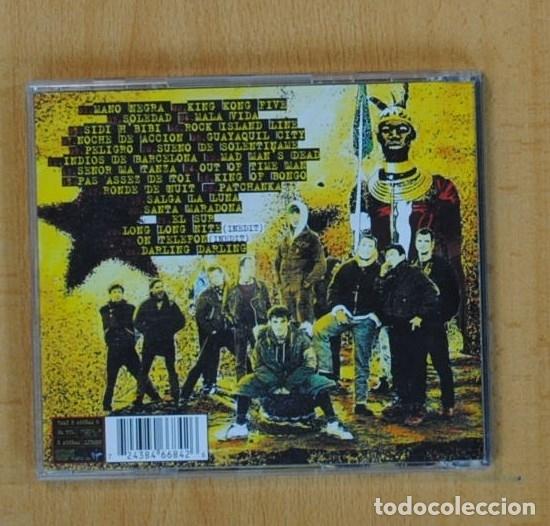 CDs de Música: MANO NEGRA - BEST OF MANO NEGRA - CD - Foto 2 - 130405759