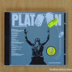 CDs de Música: VARIOS - PLATOON AND SONGS FROM THE ERA - BSO - CD. Lote 130406820