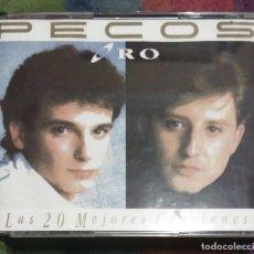 CDs de Música: PECOS (ORO - LAS MEJORES 20 CANCIONES) DOBLE CD 1993 * MUY RARO EN CD. Lote 130420854