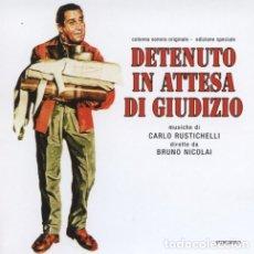 CDs de Música: DETENUTO IN ATTESA DI GIUDIZIO / CARLO RUSTICHELLI CD BSO. Lote 36975097