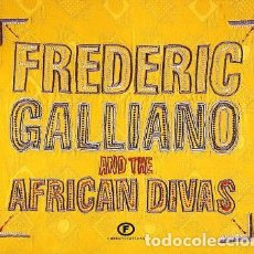 CDs de Música: FREDERIC GALLIANO AND THE AFRICAN DIVAS ?– FREDERIC GALLIANO AND THE AFRICAN DIVAS (UK, 2002. 2 CDS). Lote 130454802