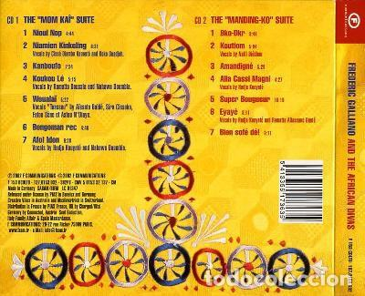 CDs de Música: Frederic Galliano And The African Divas ?– Frederic Galliano And The African Divas (UK, 2002. 2 CDS) - Foto 4 - 130454802