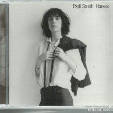 CDs de Música: PATTI SMITH - HORSES (1976) - CD ARISTA 1996 - 1 BONUS TRACK. Lote 130475170