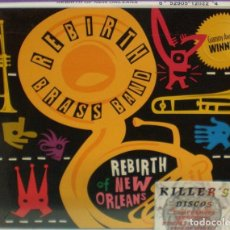 CDs de Música: REBIRTH BRASS BAND - REBIRTH OF NEW ORLEANS - CD DIGIPACK PRECINTADO. Lote 130486618