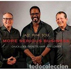 CDs de Música: CHUCK LOEB/EVERETTE HARP/JEFF LORBER - JAZZ FUNK SOUL (CD) 2016. Lote 130489366