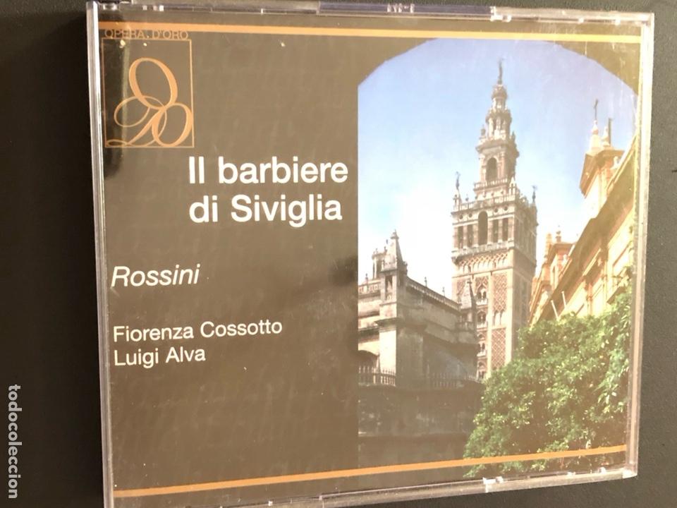 Cd Doble Il Barbieri Di Siviglia Rossini El Barbero De Sevilla Luigi Alva Fiorenza Cossotto 2 Cds