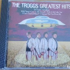 CDs de Música: THE TROGGS GREATEST HITS CD. Lote 130493234