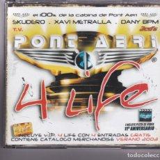 CDs de Música: PONT AERI,4 LIFE EDICION EU DEL 2003 TRIPLE CD. Lote 146545681