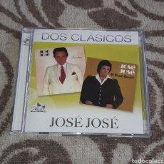 CDs de Música: JOSE JOSE, DOS CLASICOS, 2CDS. Lote 130503424