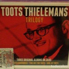 Music CDs - Toots Thielemans - Trilogy (Three Original Albums On 3 CDs) - Digipack - 130506898