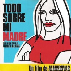 CDs de Música: TODO SOBRE MI MADRE, FILM, CD SPAIN 1990 (VANGUARDIA 001). Lote 130507326