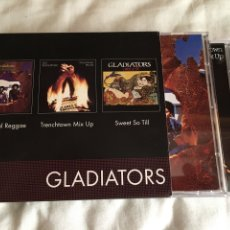 CDs de Música: THE GLADIATORS-3 CD LIMITED EDITION 2004 UK. Lote 130515772