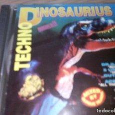 CDs de Música: C D THECNO DINOSAURIUS. Lote 130523094
