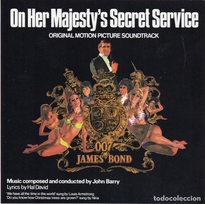 007 AL SERVICIO SECRETO DE SU MAJESTAD. JOHN BARRY. BSO-CD (Música - CD's Bandas Sonoras)