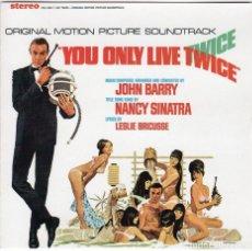 CDs de Música: SOLO SE VIVE DOS VECES. JOHN BARRY. BANDA SONORA ORIGINAL-CD. Lote 130559994