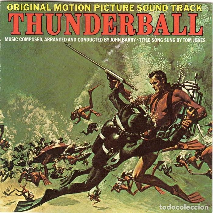 OPERACIÓN TRUENO. JOHN BARRY. BANDA SONORA ORIGINAL-CD (Música - CD's Bandas Sonoras)