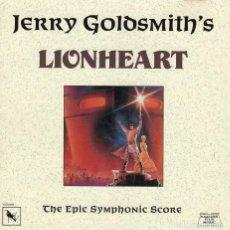 CDs de Música: LIONHEART. JERRY GOLDSMITH. BANDA SONORA ORIGINAL-CD. Lote 130560802