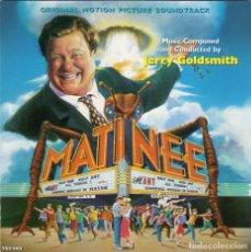 CDs de Música: MATINEE. JERRY GOLDSMITH. BANDA SONORA ORIGINAL-CD. Lote 130560922