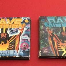 CDs de Música: RAVE MISSION VOLUME 12 Y VOLUME 5 4 CDS. Lote 130564938