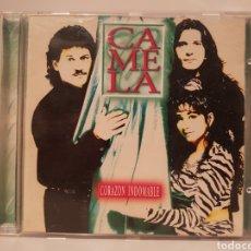 CDs de Música: CAMELA. CORAZÓN INDOMABLE. (CD ORIGINAL). Lote 130577531