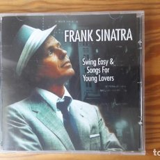 CDs de Música: FRANK SINATRA: SWING EASY & SONGS FOR YOUNG LOVERS (HALLMARK – MCPS, 2005). Lote 130587898