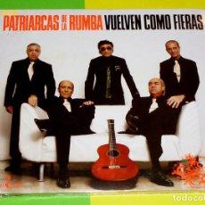 CDs de Música: PATRIARCAS DE LA RUMBA VUELVEN COMO FIERAS - DIGIPACK - PRECINTADA. Lote 132179918