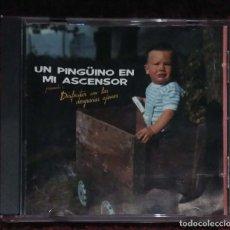 CDs de Música: UN PINGÜINO EN MI ASCENSOR (DISFRUTAR CON LAS DESGRACIAS AJENAS) CD 1989. Lote 130614342