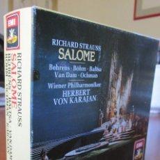 CDs de Música: SALOME - HILDEGARD BEHRENS, KARL-WALTER BÖHM, AGNES BALTSA, JOSÉ VAN DAM. 2 CD. Lote 130660768