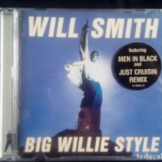 CDs de Música: WILL SMITH: BIG WILLIE STYLE, CD COLUMBIA 488662 2. EUROPE, 1997.. Lote 130669623