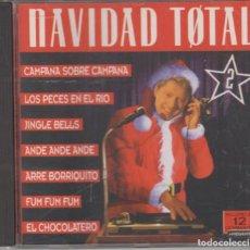 CDs de Música: NAVIDAD TOTAL 2 CD 1995 MAX MUSIC. Lote 130680489