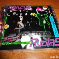 CDs de Música: NANCYS RUBIAS GABBA GABBA NANCY CD ALBUM 2007 MARIO VAQUERIZO ALASKA FANGORIA 12 TEMAS MUY RARO. Lote 130717489