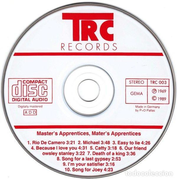 CDs de Música: Master's Apprentices ?– Master's Apprentices Sello: TRC Records – TRC 003 Formato: CD, Album, - Foto 3 - 130755340