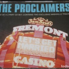 CDs de Música: THE PROCLAIMERS - LETS GET MARRIED - CD SINGLE. Lote 130786296