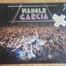 CDs de Música: MANOLO GARCÍA. TODO ES AHORA. EN DIRECTO. 2 CDS + 1 DVD. NUEVO. Lote 130903920
