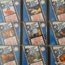 CDs de Música: GRANDES TEMAS MUSICALES DEL CINE COMPLETO LOTE 9 CD A ESTRENAR CLÁSICOS. Lote 130925444