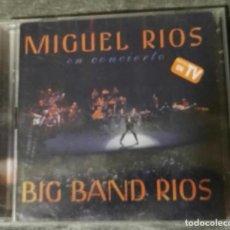 CDs de Música: MIGUEL RIOS BIG BAND RIOS 2 CD EN DIRECTO. Lote 130935840