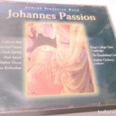CDs de Música: 2 CDS - JOHANN SEBASTIAN BACH - JONANNES PASSÍON - BRILLIANT CLASSICS. Lote 130963268
