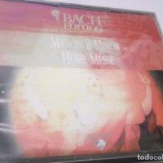 CDs de Música: 2 CDS - BACH EDITION - MASS IN B MINOR BMW 232 - HOHE MESSE - BRILLIANT CLASSICS. Lote 130963420