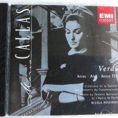 CDs de Música: MARIA CALLAS, VERDI III. Lote 130966320