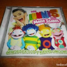 CDs de Música: LOS LUNNIS CON MARIA ISABEL BANDA SONORA CD ALBUM DEL AÑO 2009 CONTIENE 14 TEMAS. Lote 130967832
