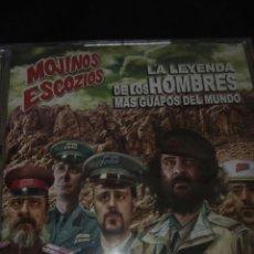 CDs de Música: MOJINOS ESCOZÍOS / CD / DVD / LA LEYENDA DE LOS HOMBRES MÁS GUAPOS DEL MUNDO / ROCK / HEAVY / METAL. Lote 130974100