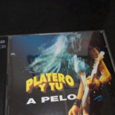 CDs de Música: PLATERO Y TU / 2 CD / A PELO / ROCK. Lote 130974544