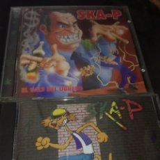 CDs de Música: SKA-P / PACK 2 PRIMEROS DISCOS / SKA-P Y EL VALS DEL OBRERO. Lote 130974792