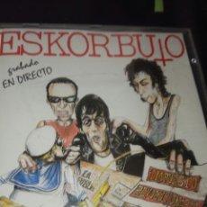 CDs de Música: ESKORBUTO / CD / IMPUESTO REVOLUCIONARIO / PUNK / ROCK. Lote 130975288
